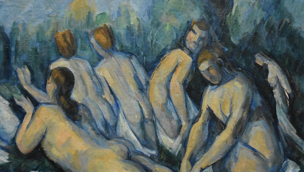 """""""Cezanne, Les Grandes Baigneuses, about 1884 - 85 (1)"""" by Prof. Mortel is licensed under CC BY-NC-SA 2.0"""