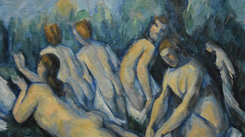 """Cezanne, Les Grandes Baigneuses, about 1884 - 85 (1)"" by Prof. Mortel is licensed under CC BY-NC-SA 2.0"